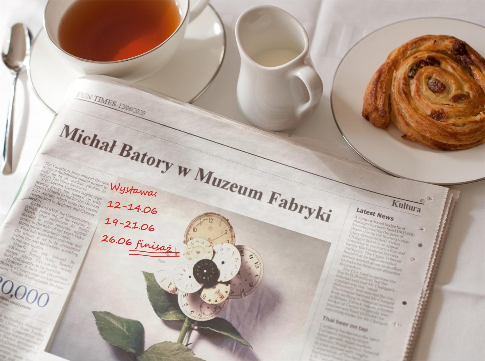 Michał Batory w Muzeum Fabryki
