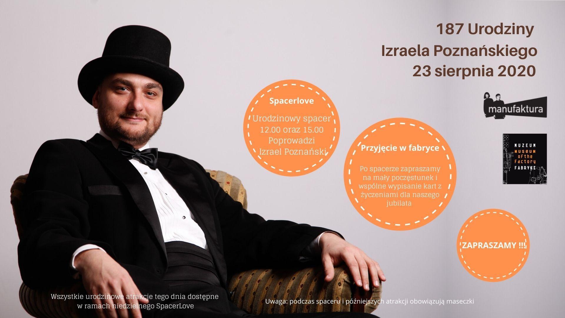 Urodziny Izraela Poznańskiego